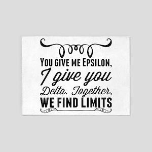 You give me Epsilon, I give you Del 5'x7'Area Rug