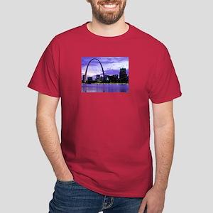 St. Louis Skyline Dark T-Shirt