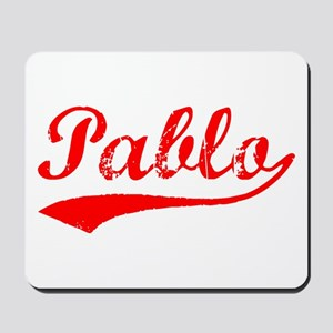Vintage Pablo (Red) Mousepad