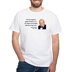 Winston Churchill 2 White T-Shirt