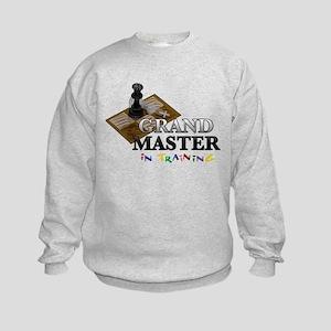 Grand Master in Training Kids Sweatshirt
