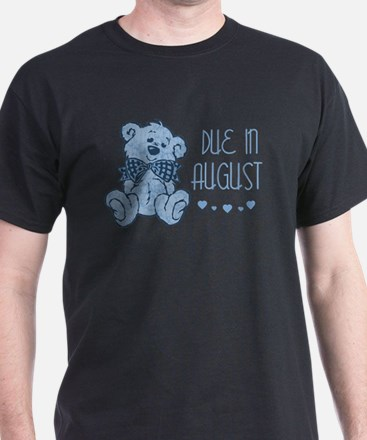 Blue Marbled Teddy Due In August T-Shirt