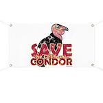 Save the California Condor Banner