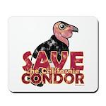 Save the California Condor Mousepad