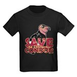 Save the California Condor Kids Dark T-Shirt