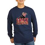 Save the California Condor Long Sleeve Dark T-Shir