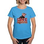 Save the California Condor Women's Dark T-Shirt