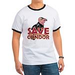 Save the California Condor Ringer T