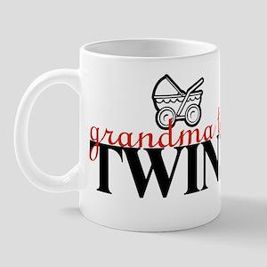 """""""GRANDMA to twins"""" Mug"""