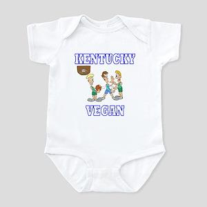 Kentucky Vegan Infant Creeper
