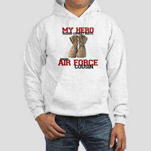Combat boots: USAF Cousin Hooded Sweatshirt