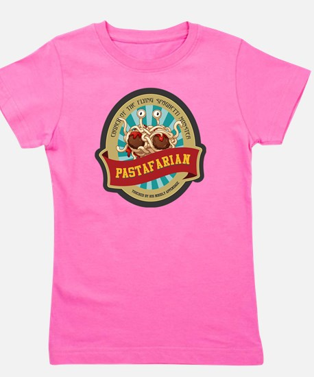 Cute Pastafarian Girl's Tee
