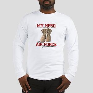 Combat boots: USAF Grandma Long Sleeve T-Shirt