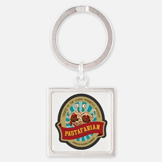 Funny Intelligent funny Square Keychain
