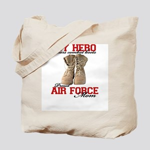 Combat boots: USAF Mom Tote Bag