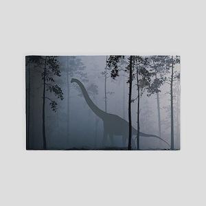 Dinosaur by Moonlight Area Rug