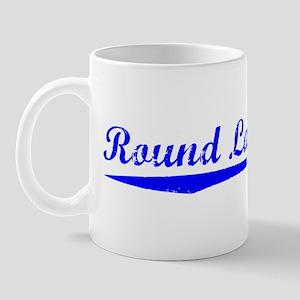 Vintage Round Lake.. (Blue) Mug