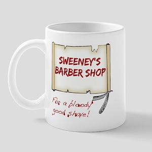Sweeney's Barber Shop Mug