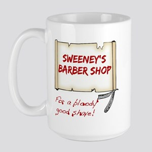 Sweeney's Barber Shop Large Mug