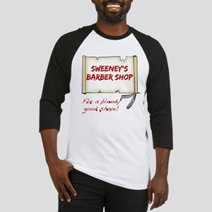 Sweeney's Barber Shop Baseball Jersey