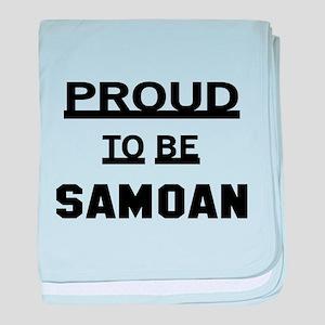 Proud To Be Samoan baby blanket