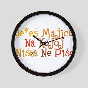 Je*es maicu... Wall Clock