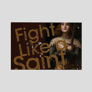 Fight Like a Saint Magnets