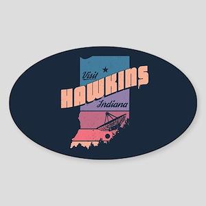 Visit Hawkins Indiana Sticker