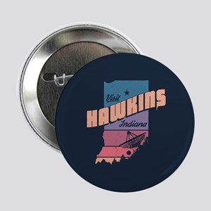 """Visit Hawkins Indiana 2.25"""" Button (10 pack)"""