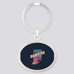 Visit Hawkins Indiana Keychains