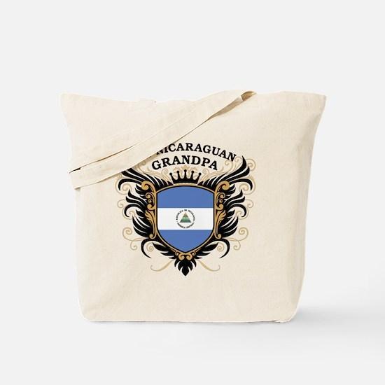 Number One Nicaraguan Grandpa Tote Bag