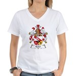 Kester Family Crest Women's V-Neck T-Shirt