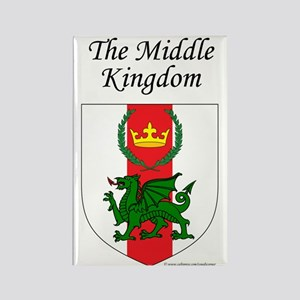 Middle Kingdom Rectangle Magnet