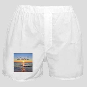 JOHN 3 16 VERSE Boxer Shorts