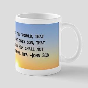 JOHN 3 16 VERSE Mug
