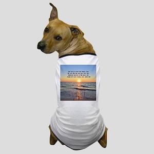JOHN 3 16 VERSE Dog T-Shirt