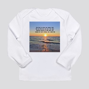 JOHN 3 16 VERSE Long Sleeve Infant T-Shirt