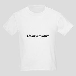 Debate Authority Kids Light T-Shirt