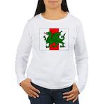 Midrealm Ensign Women's Long Sleeve T-Shirt