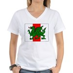 Midrealm Ensign Women's V-Neck T-Shirt