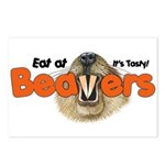 Eat At Beavers Postcards (Package of 8)
