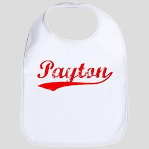 Vintage Payton (Red) Bib