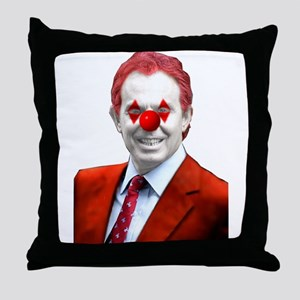 Clown Blair Throw Pillow