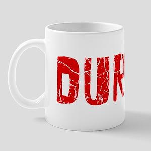 Durham Faded (Red) Mug
