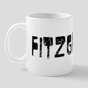 Fitzgerald Faded (Black) Mug