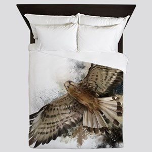 Falcon Flight Queen Duvet