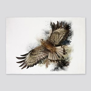 Falcon Flight 5'x7'Area Rug