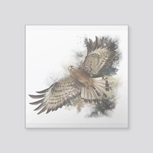 "Falcon Flight Square Sticker 3"" x 3"""