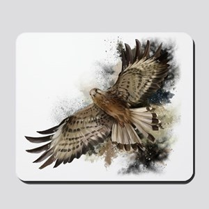 Falcon Flight Mousepad