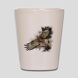 Falcon Flight Shot Glass